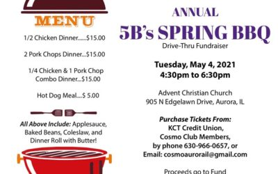 Annual 5B's Spring BBQ